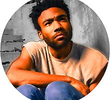 Childish Gambino Oil Painting by therealgiselle