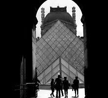 Louvre by Mojca Savicki