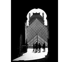 Louvre Photographic Print