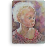I See An Angel Canvas Print