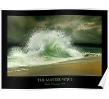 The Master Wave Poster