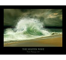 The Master Wave Photographic Print