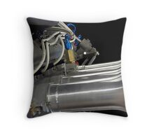 Intakes Throw Pillow