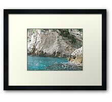Italian Blues Framed Print