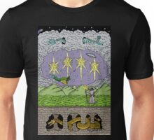 Morning Stars Sing in the Speculative Realm Unisex T-Shirt