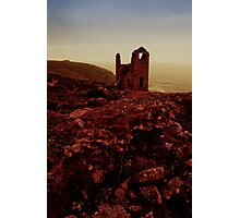Cornish Tin Mine Photographic Print
