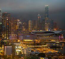Hong Kong Downtown by Delfino