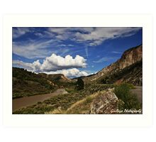 Rio Grande New Mexico Art Print
