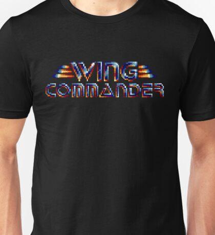 Wing Commander - SNES Title Screen Unisex T-Shirt