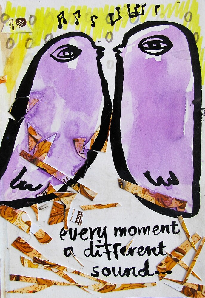 every moment a different sound by donna malone