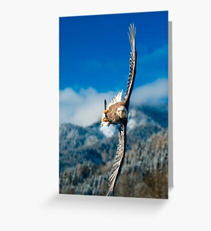 Crosswind Greeting Card
