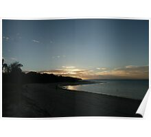 Sunset deja vu - Cape York Poster