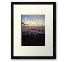 Socal Sunsets Framed Print
