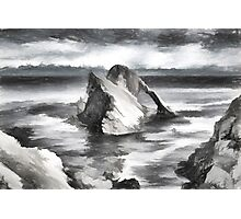 The Bow Fiddle Rock Photographic Print