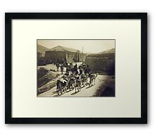 Inn of the Good Samaritan-1942 Framed Print