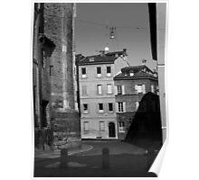 Corner of Parma town Poster