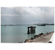Old Pier - Thursday Island, Torres Strait Poster