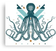 The Majestic Octopus Canvas Print