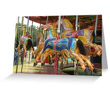 Gallopers Greeting Card