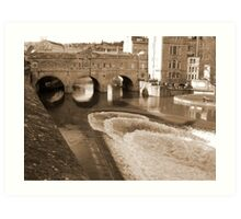 Bath, England Art Print