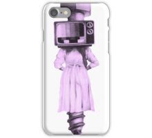 Television Off-Air Screwed  iPhone Case/Skin