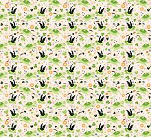 Lucky Green Turtle Pattern by SaradaBoru