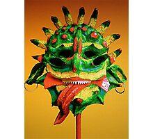 Creature Mask Photographic Print