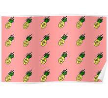Summer Pineapple Poster