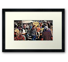 """DANG ART STORE!""... prints and products Framed Print"