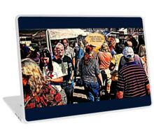 """DANG ART STORE!""... prints and products Laptop Skin"