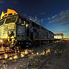 Dust Storm Express by David Haworth