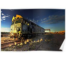 Dust Storm Express Poster