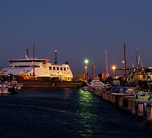 Twilight,Queenscliff Harbour  by Joe Mortelliti