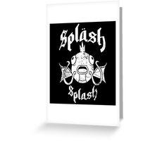Splash Splash Greeting Card