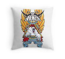 Canadian Polar Bear Natas Tribute Throw Pillow