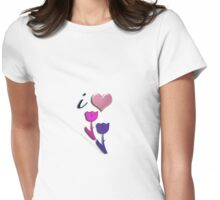 i❤tulips! Womens Fitted T-Shirt