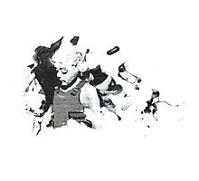 Banksy Angel Photographic Print