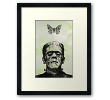 Frankenstein's Monster Creature Framed Print