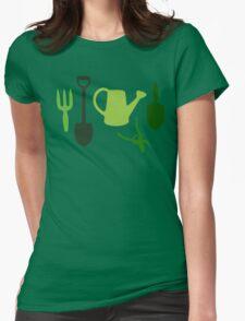 Grandpa's Garden Womens Fitted T-Shirt