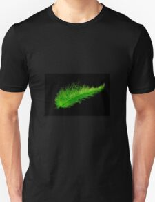 Green feather T-Shirt