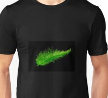 Green feather Unisex T-Shirt