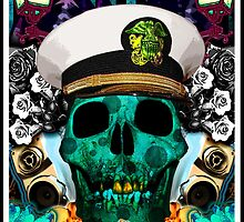 Skull Poster  by Rustypanther