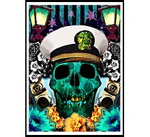 Skull Poster  Photographic Print