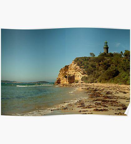 Black Lighthouse,Queenscliff Poster
