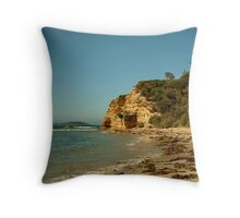 Black Lighthouse,Queenscliff Throw Pillow
