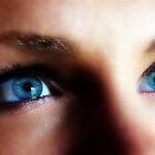 Blue Eyed Blond by Sandra Bauser Digital Art