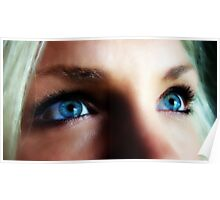 Blue Eyed Blond Poster