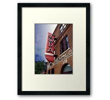 Club Soda Framed Print