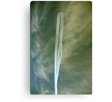 Red Arrows Trail 2009 Canvas Print
