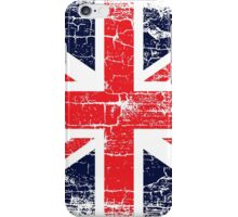 Vintage UK British Flag design iPhone Case/Skin